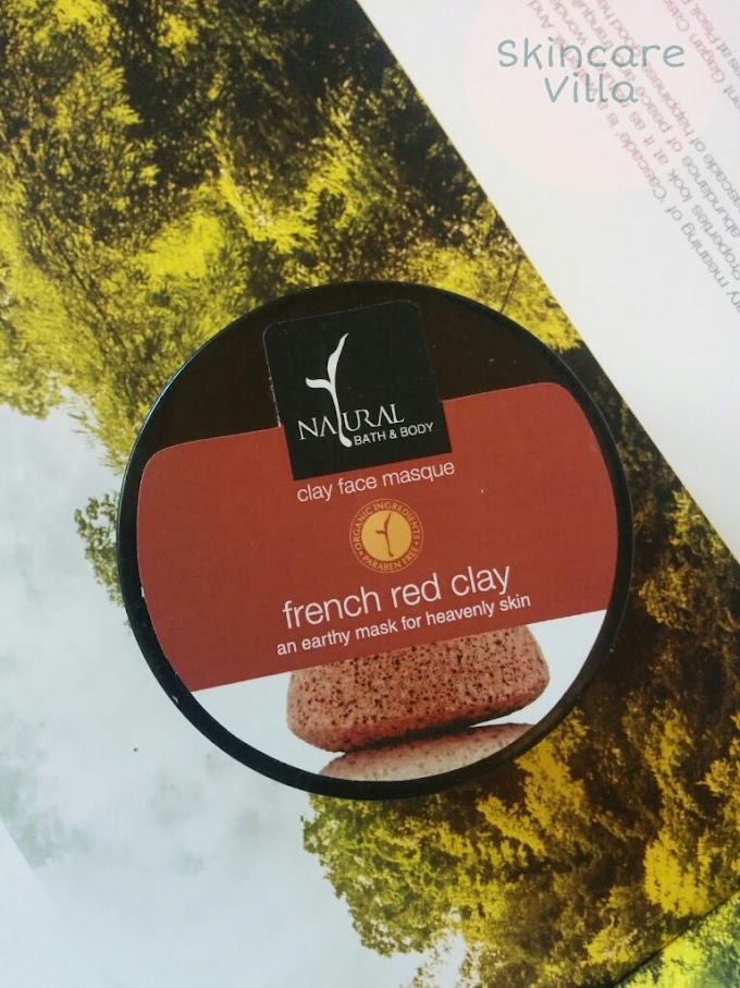 Natural Bath and Body French Red Clay Mask Review