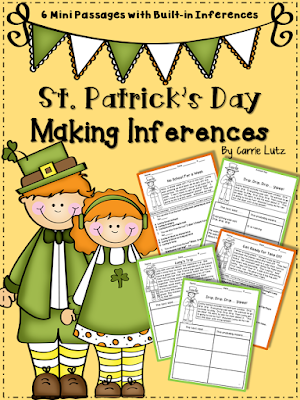 https://www.teacherspayteachers.com/Product/St-Patricks-Day-Inferring-Mini-Passages-with-Built-in-Inferences-1141918