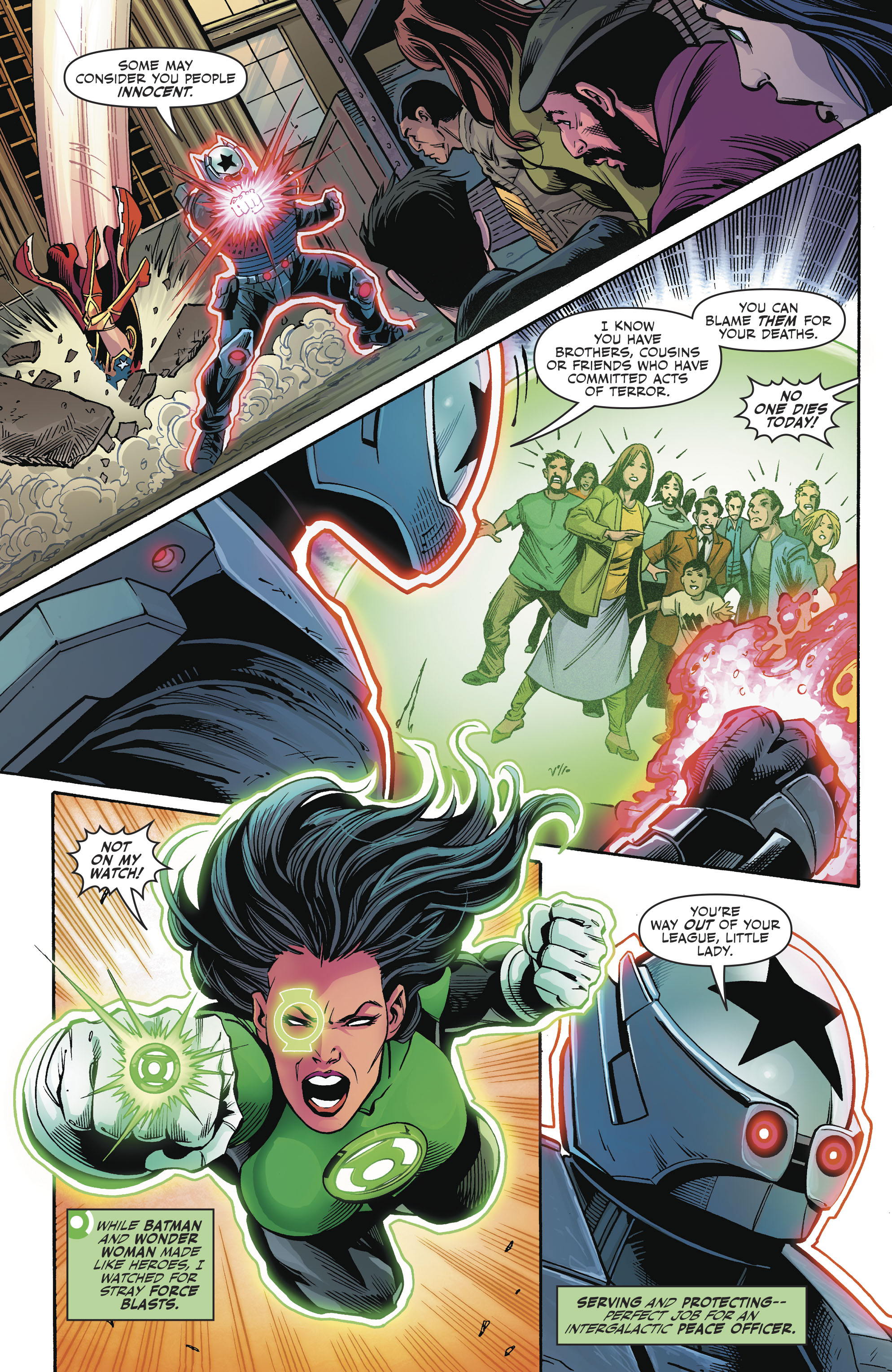 Read online Justice League (2016) comic -  Issue #23 - 18
