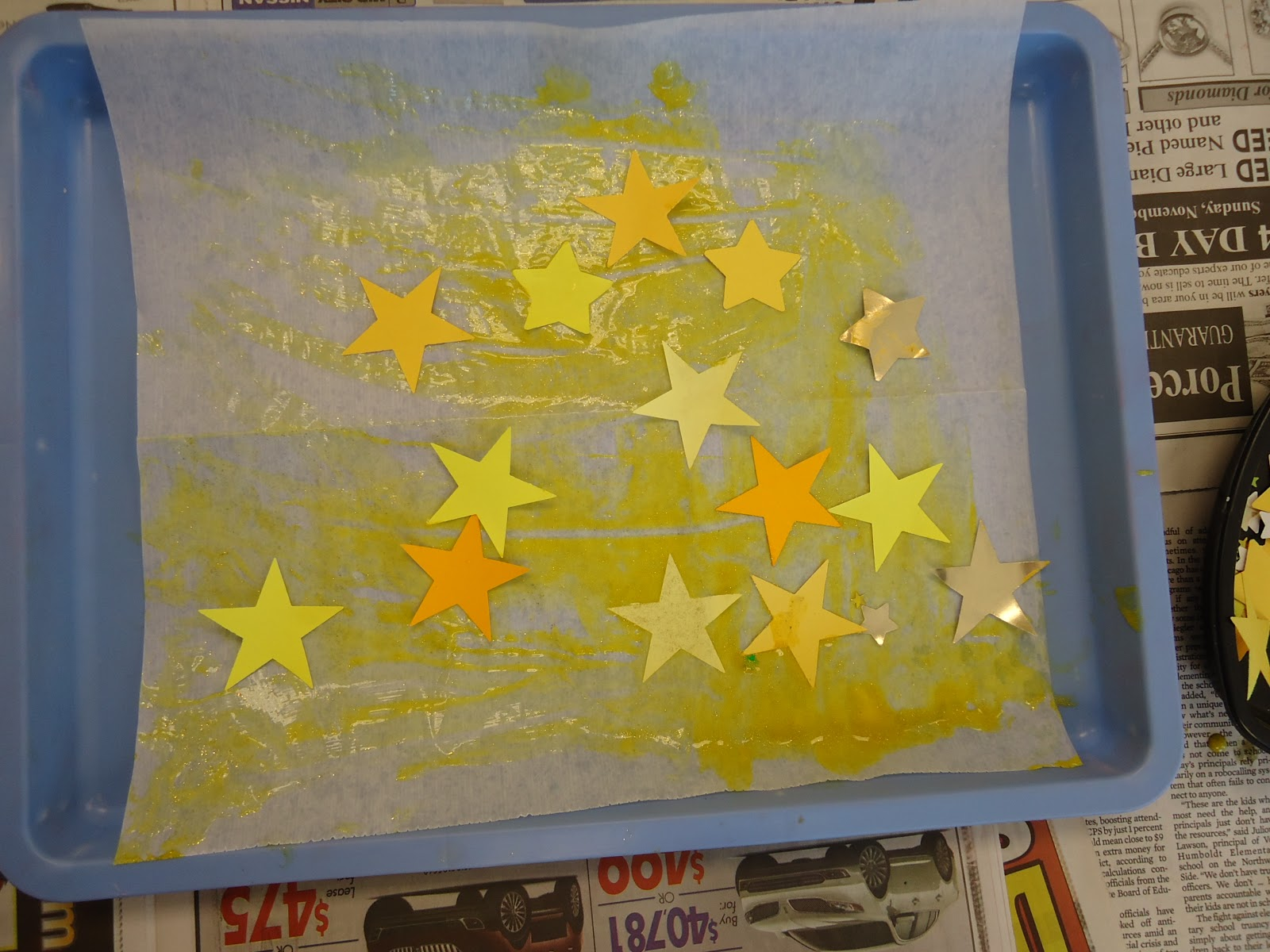 Draw Me A Star by Eric Carle | Kindergarten art, Eric ... |Star Art Projects For Preschoolers