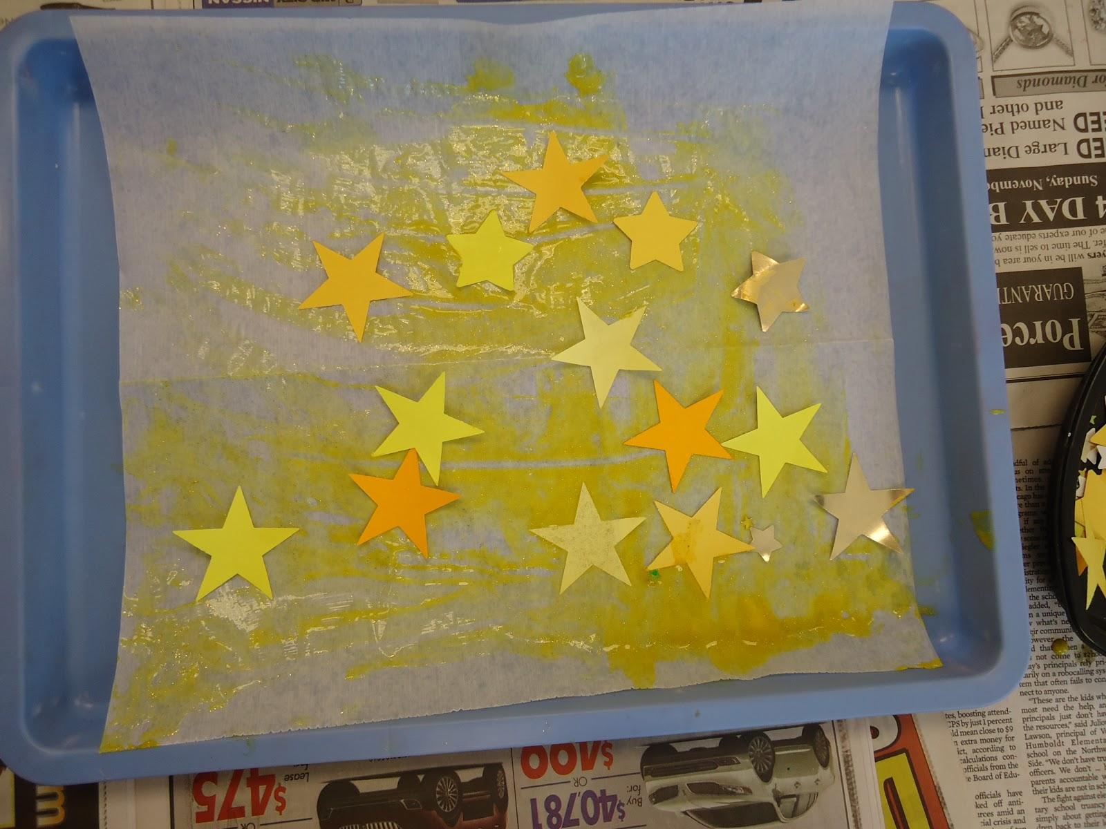 Trinity Preschool Mount Prospect Star Art For Twinkle Twinkle Little Star
