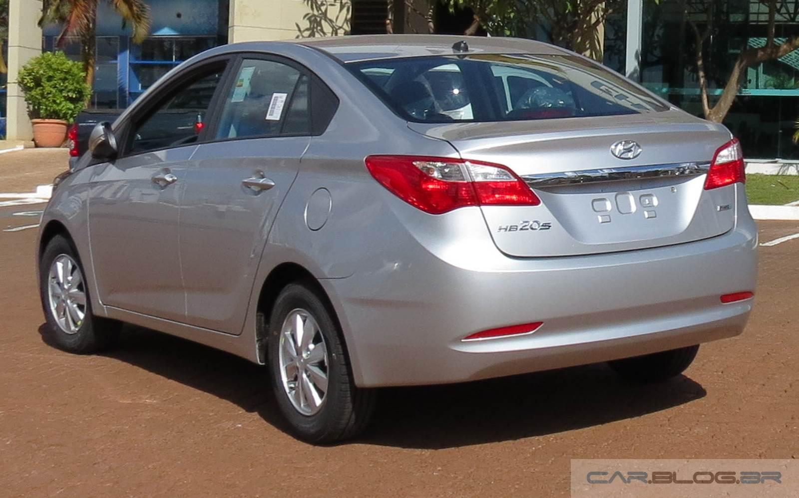 Hyundai HB20S (Sedã) - aluguel