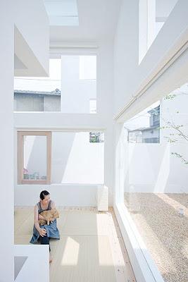Casa N Sou Fujimoto estructura interior. 2011. Japón.