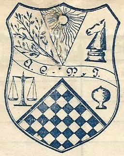 Insignia del Club de Ajedrez Pau i Justicia