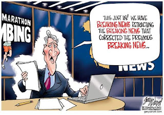 Image result for Cartoon when truth is a blunder