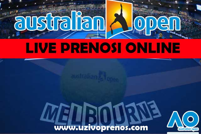 Australian OPEN uživo prenos tenisa