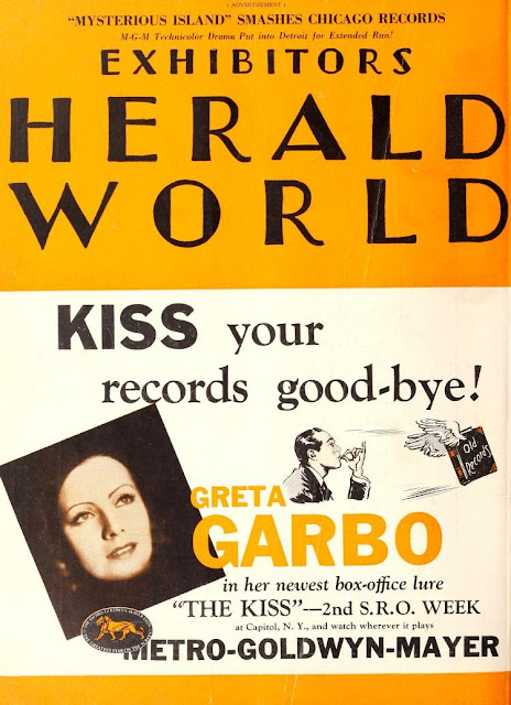 Greta Garbo Trade Magazine Covers
