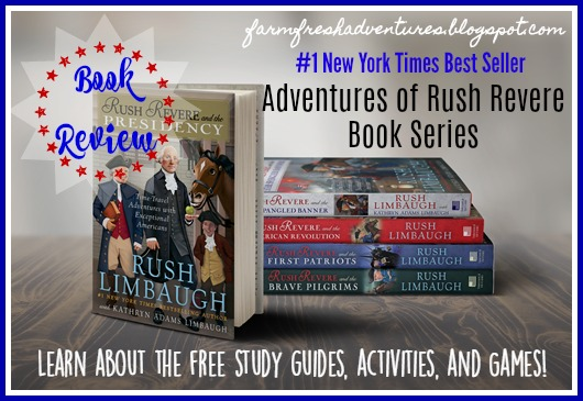 Adventures of Rush Revere Book Series {A review}