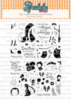 Paperbabe Stamps Challenge #74 ~ Doodles