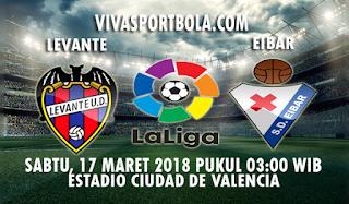 Prediksi Levante vs Eibar 17 Maret 2018
