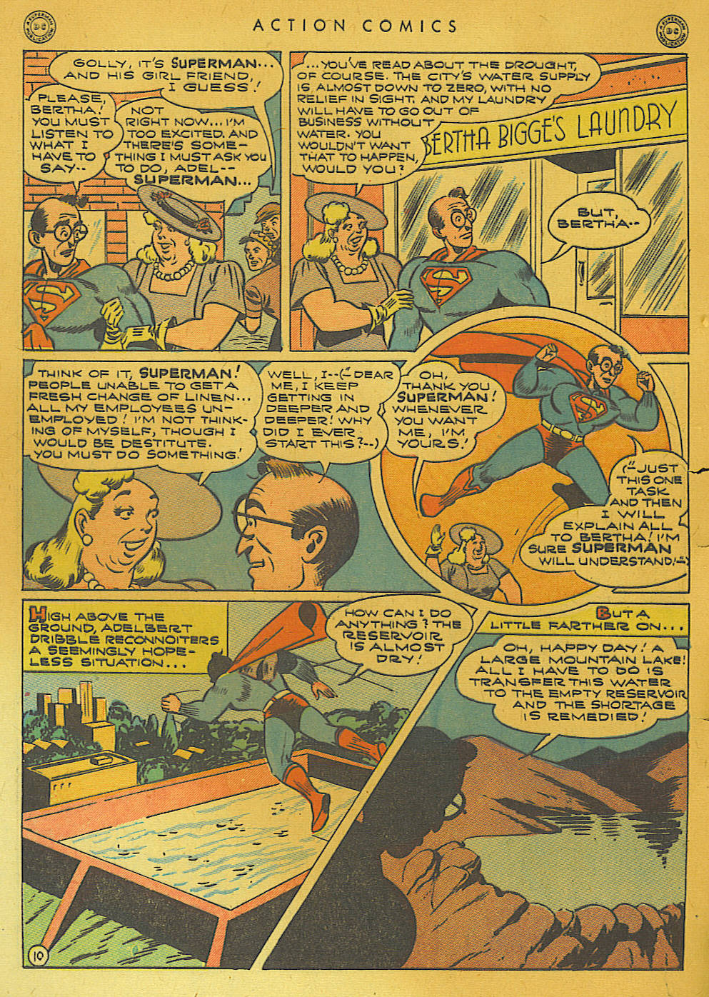 Read online Action Comics (1938) comic -  Issue #74 - 12