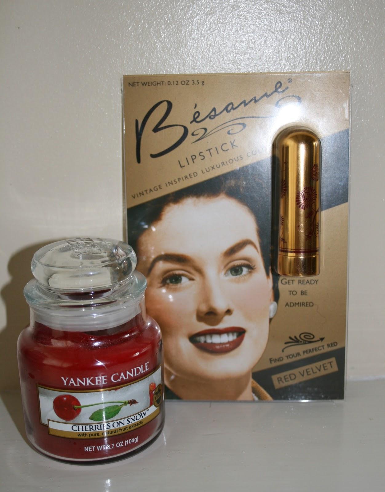 Besame Cosmetics 1946 Red Velvet Lipstick | Velvet