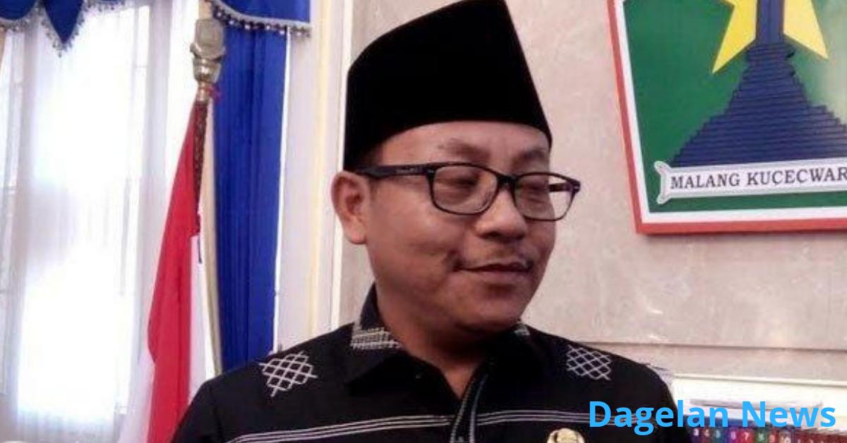 Wali Kota Malang, Sutiaji saat ditemui di kantornya.