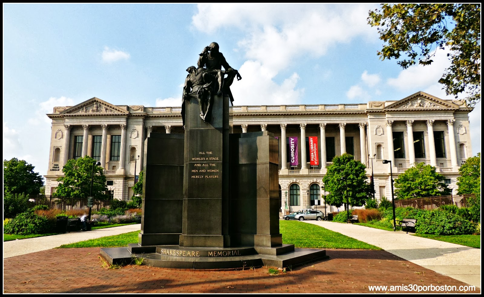Filadelfia: Shakespeare Memorial y Free Library of Philadelphia