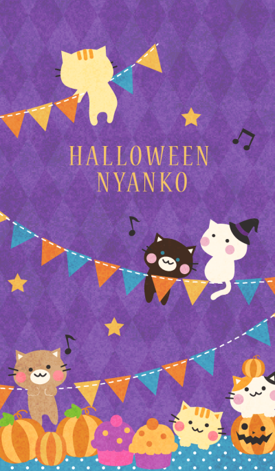 Halloween Nyanko 2 for World
