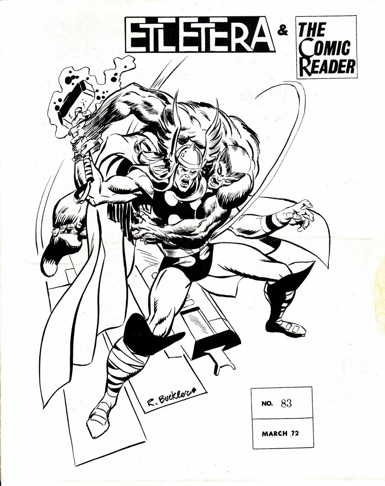Marvel Mysteries and Comics Minutiae: Etcetera, Etcetera