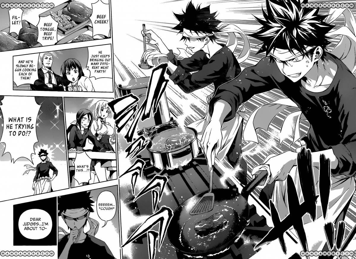 Shokugeki no Soma - Chapter 96