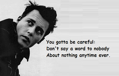 """Johnny Depp Quotes About Careful"""