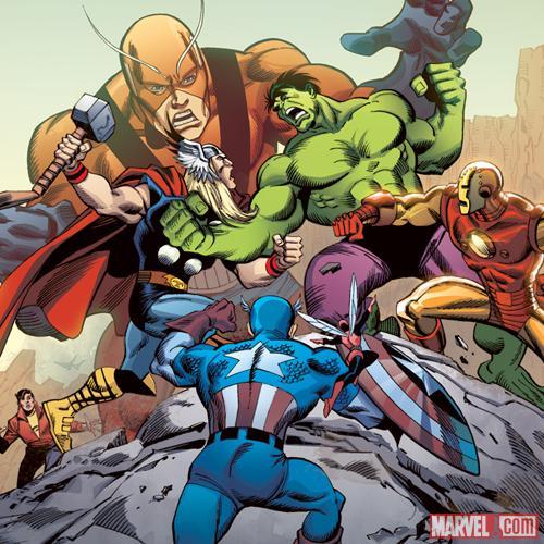 Hulk and the Avengers