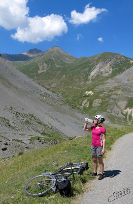 Routens tandem, Col du Galibier.