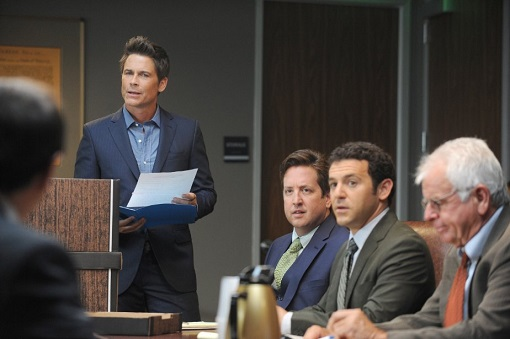 Rob Lowe en The Grinder