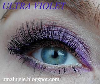 "Makijaż ""ULTRA VIOLET"" -  kolor 2018 wg Pantone"