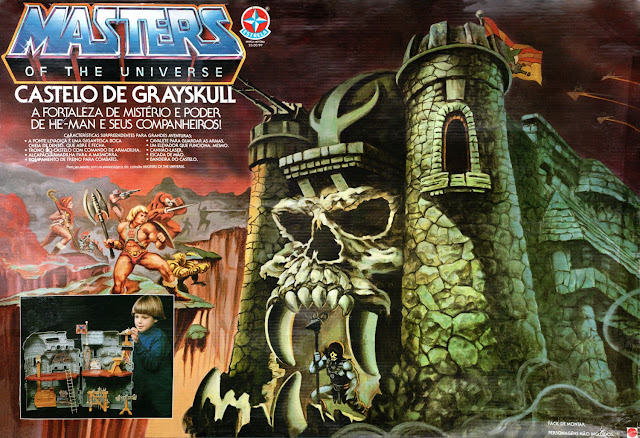 ... do Castelo de Grayskull