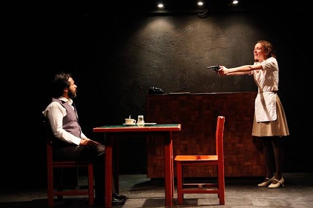 """Estrenan Inés de Tavira y Alexandro Guerrero """"Y después del silencio"""" en El círculo teatral"""