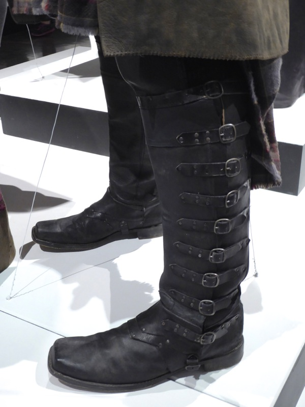 Outlander Jamie Fraser Highlands costume boots