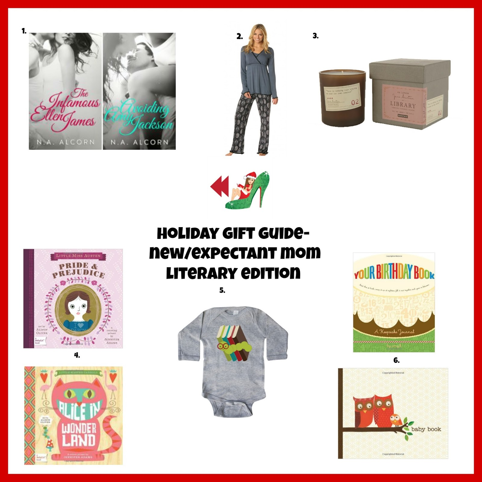 Romance Rewind Holiday Gift Guide New Expectant Mom