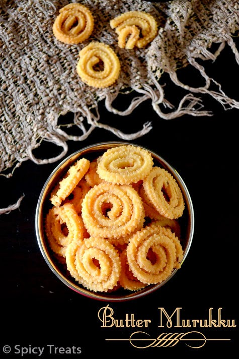 Mini Butter Murukku