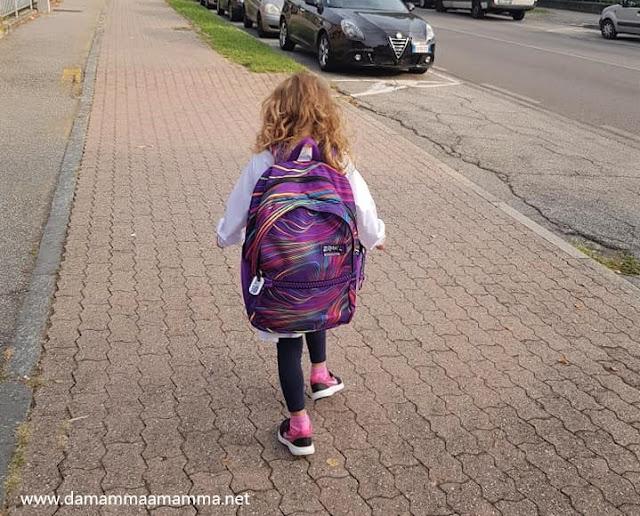 Il primo giorno di scuola primaria