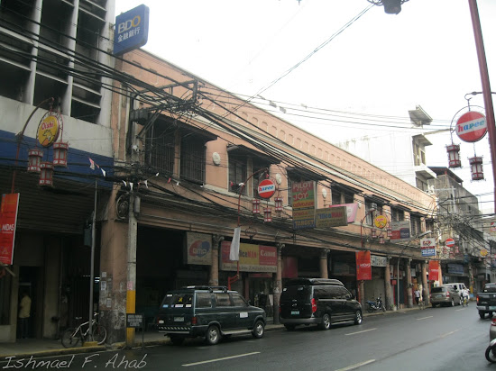 Old building along Quintin Paredes Street