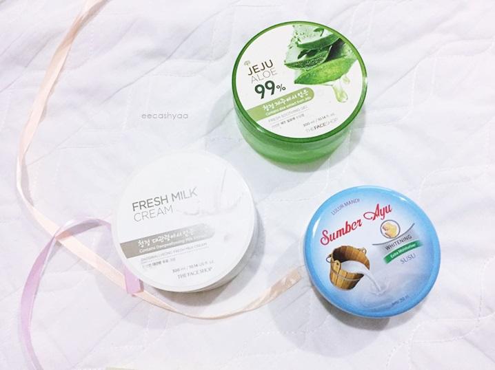 scrub, cream, lotion