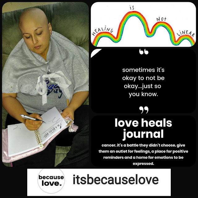 ItsBecauseLove Journal & Blanket Cristyl's Corazon BBabushka