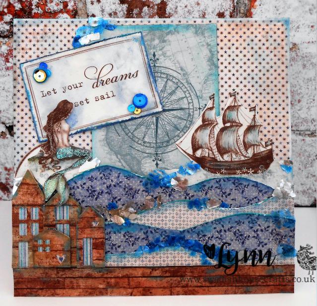 Let Your Dreams Set Sail | By Lynn