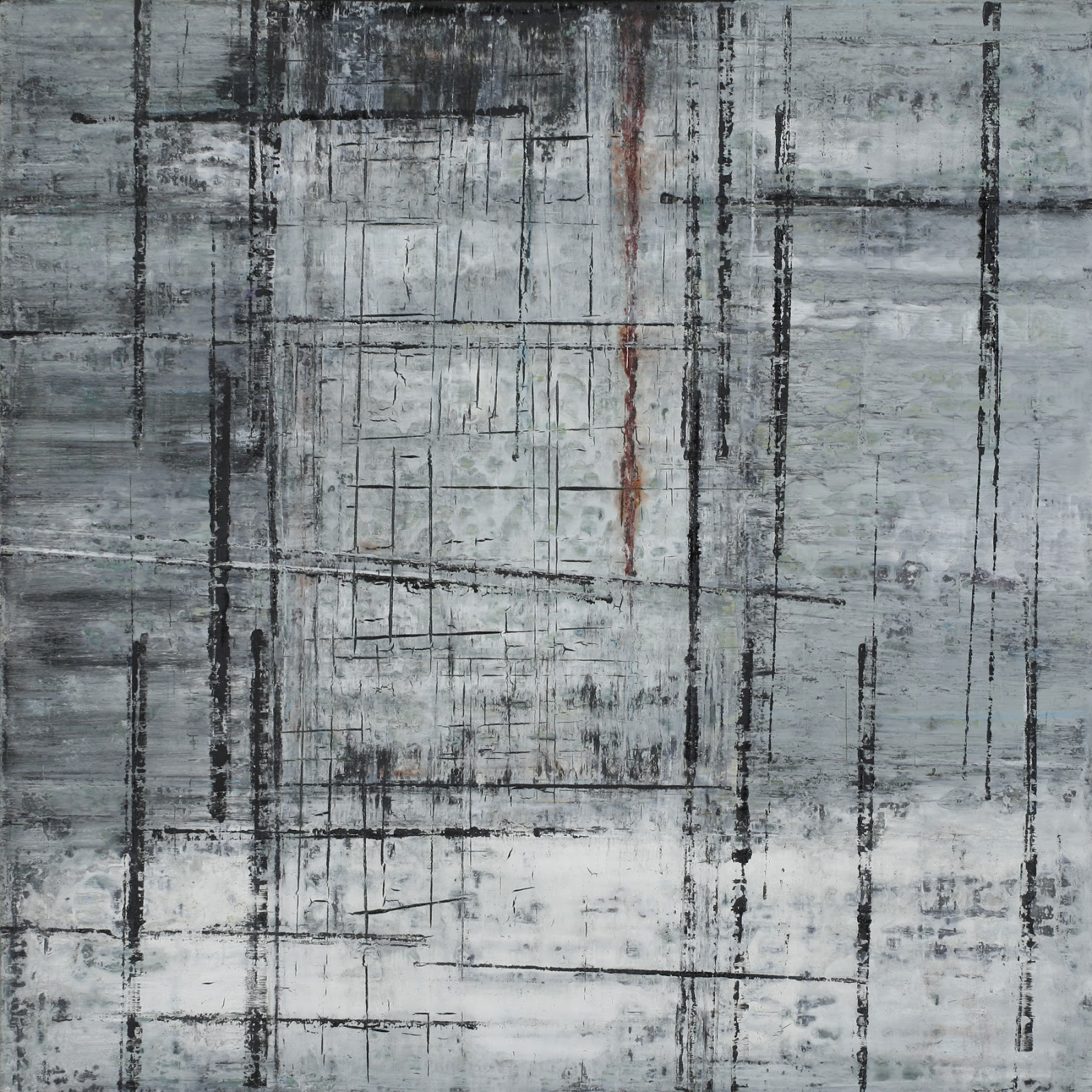 Image of the abstract painting entitled Lotus by artist Martha Hope Carey