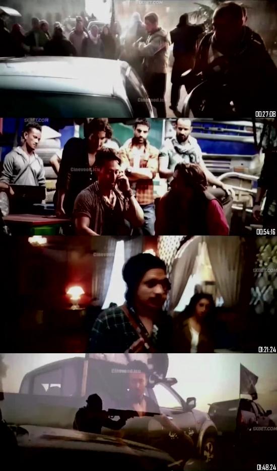 Baaghi 3 (2020) Hindi 720p 480p pDVDRip x264 Full Movie