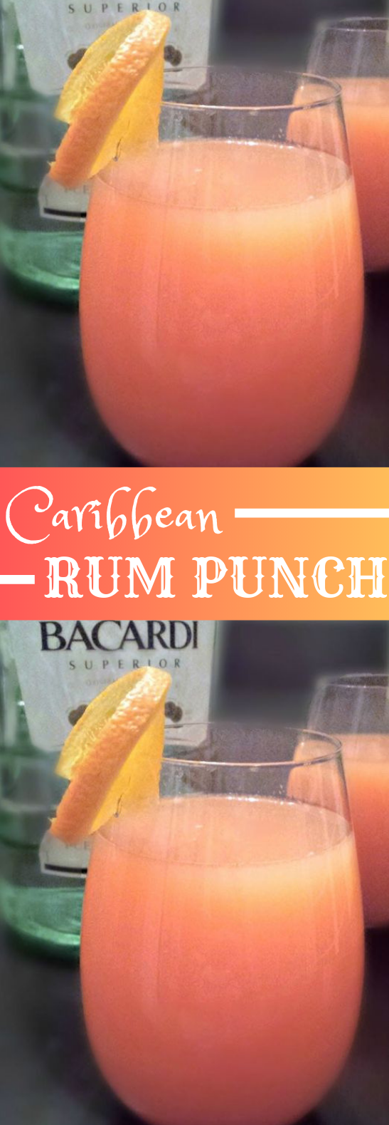 #ThurstyThursday: Rum Punch #Drinks #carribean