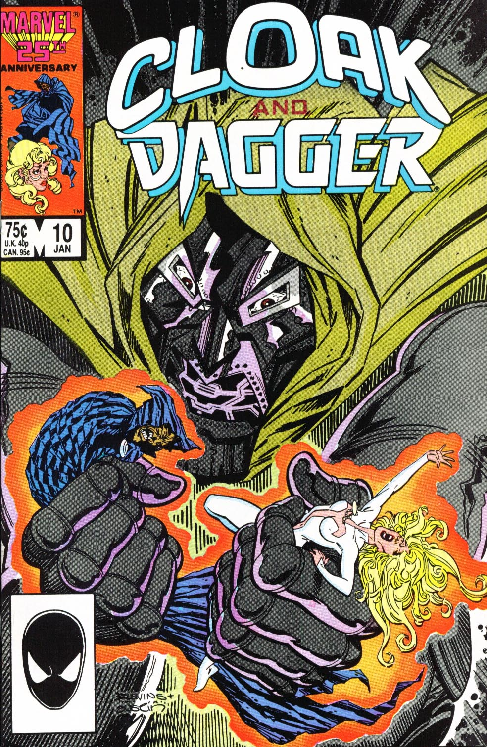 Cloak and Dagger (1985) 10 Page 1