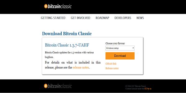 BCH Wallet Bitcoin Classic UAHF Client