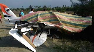 Berita mendarat darurat pesawat irwandi yusuf
