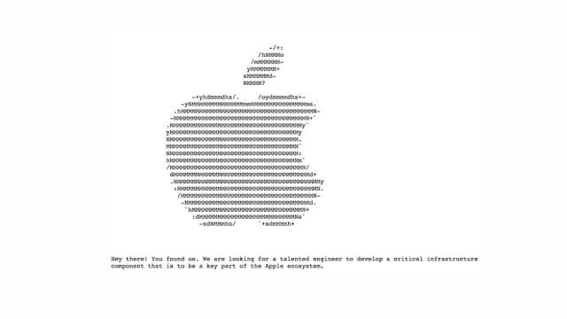 Fancy-ads-for-the-appointment-of-engineers-on-Apple-website