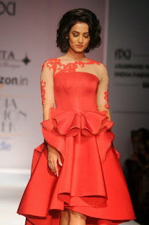 Sonal Chauhan at India Fashion Week