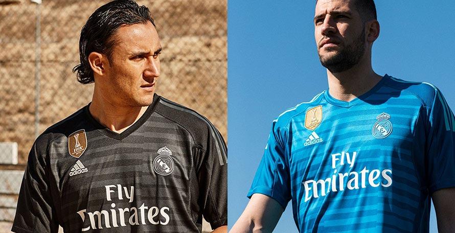 Real Madrid 18-19 Goalkeeper Home   Away Kits Released - Footy Headlines 9e0d80cc4