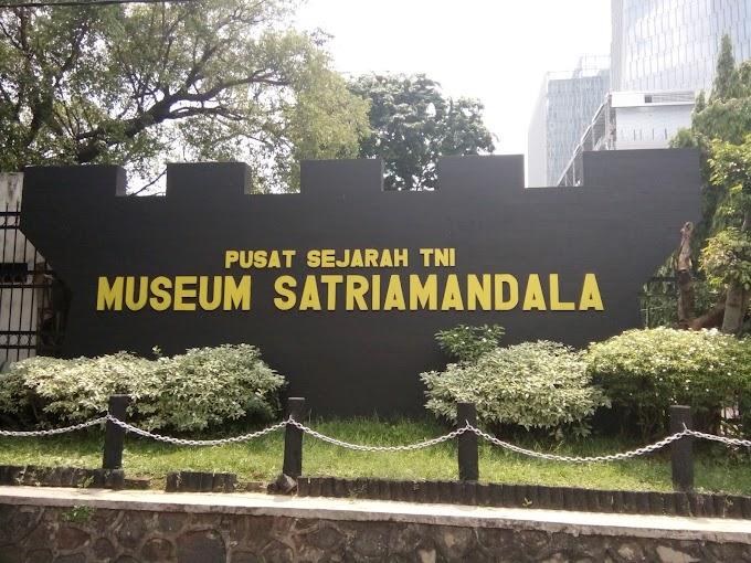Pusat Sejarah TNI MUSEUM SATRIAMANDALA, Tempatnya Para Satria dan Pahlawan di Abadikan