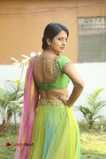 Actress Nikitha Bisht Stills in Lehenga Choli at Pochampally Ikat Art Mela Launch  0132.JPG