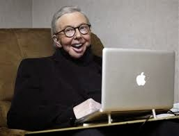 Life Itself - Roger & his laptop | A Constantly Racing Mind