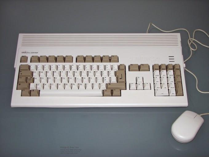Commodore amiga 1200HD