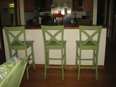 Roatan vacation rental breakfast bar